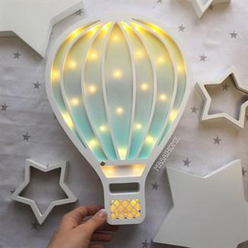 Набор воздушный шар и звезды - фото 4495
