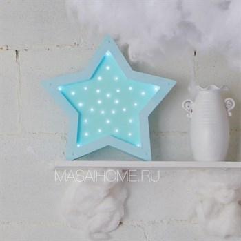 """Ночник деревянный """"Звезда"""" Masaihome - фото 4560"""