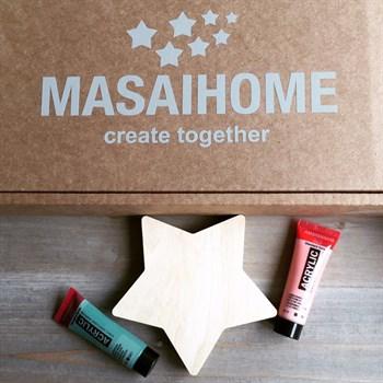 """Набор для самостоятельной сборки ночника  """"MASAIHOME create together"""" - фото 4616"""