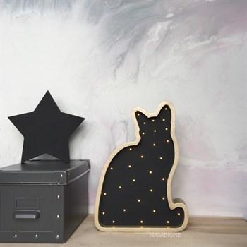 Кошка золото+черный - фото 4661