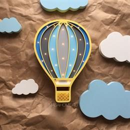 Набор Воздушный шар Unicue и облака декор