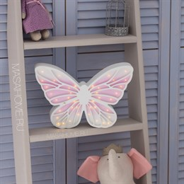 "Деревянный светильник ""Бабочка"" Masaihome"