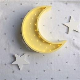 "Детский светильник-ночник ""Месяц"" Masaihome желтый"