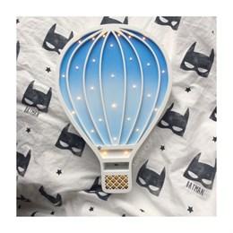 """Детский ночник """"Воздушный шар"""" Masaihome белый+сине-голубой градиент"""