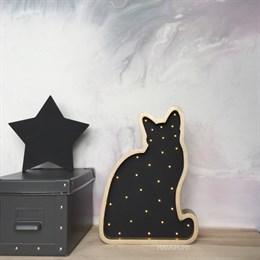 Кошка золото+черный